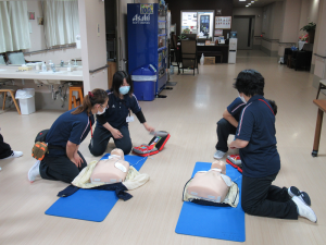 7.22 新入職員CPR研修c