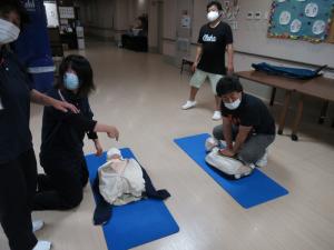7.22 新入職員CPR研修