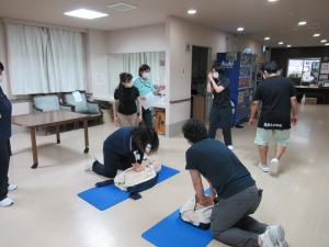 7.22 新入職員CPR研修 a