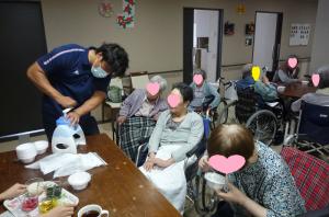 8.11かき氷 エリア課長2F